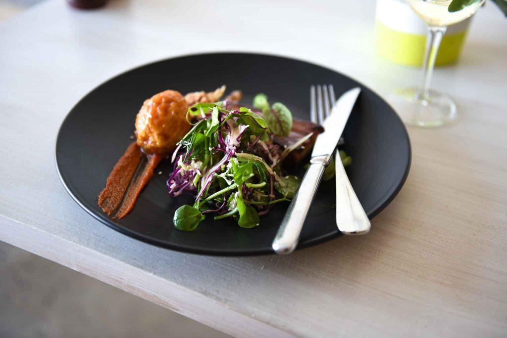 Adhoc plate of food