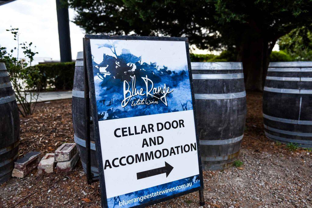 cellar door signage