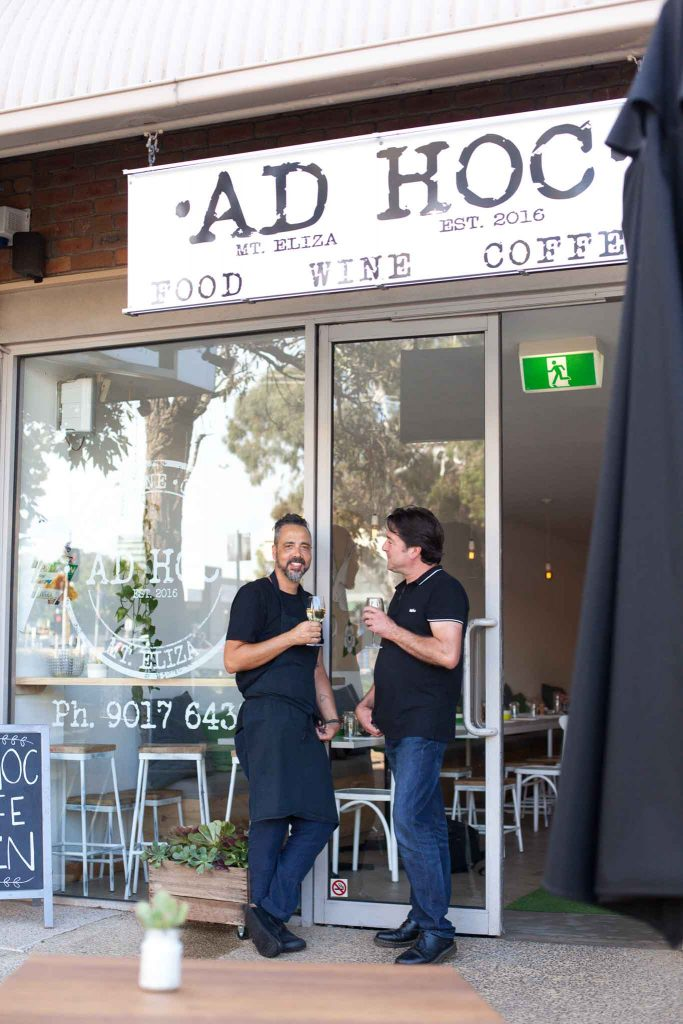 Adhoc owners Deon and James