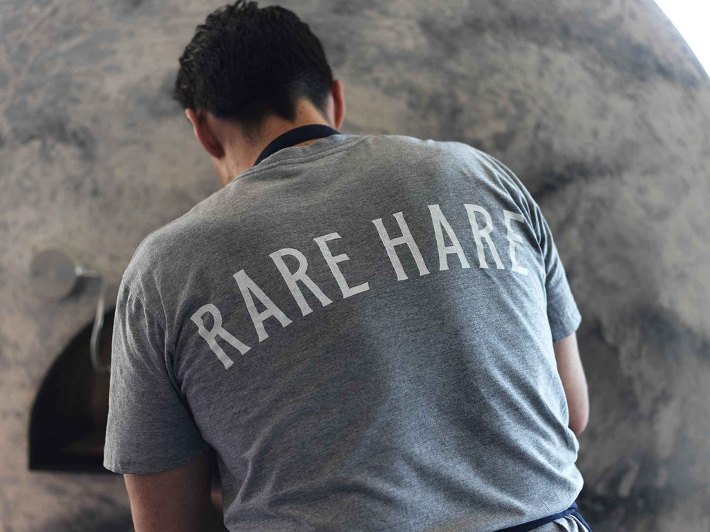 rare hare staff
